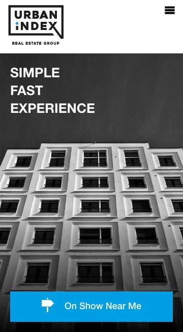 Urban Index Real Estate Group Website Showcase | Prop Data